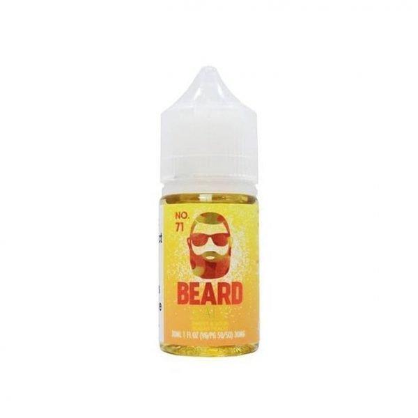 No. 71 by Beard Vape Co. Salts